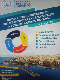 International Conference on Quality Assurance and Accreditation in Foreign Language Education